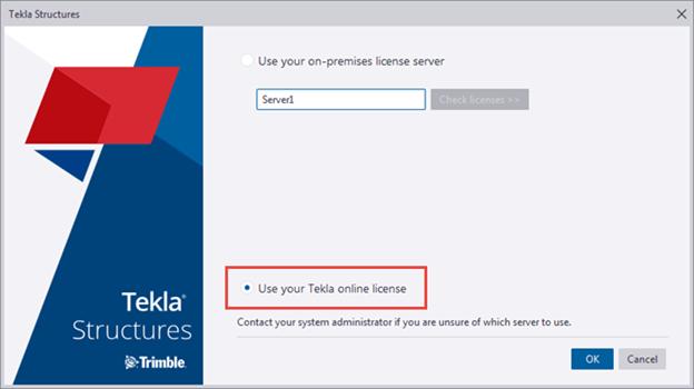 Tekla Online Licensing