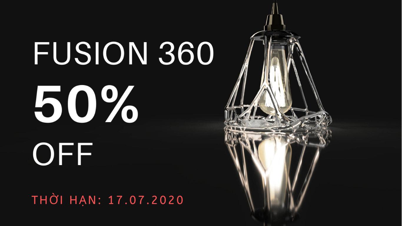 Khuyến mãi Fusion 360 Autodesk