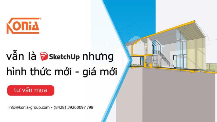 Khuyến Mãi phần mềm SketchUp
