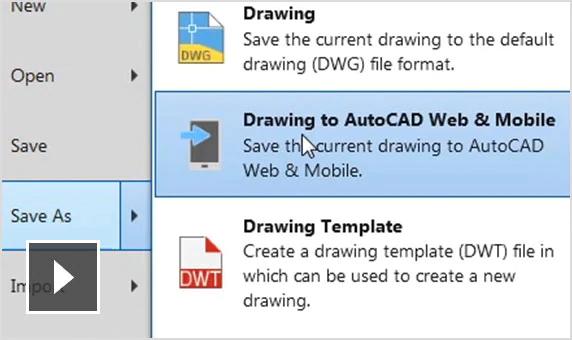 AutoCAD Mobile App