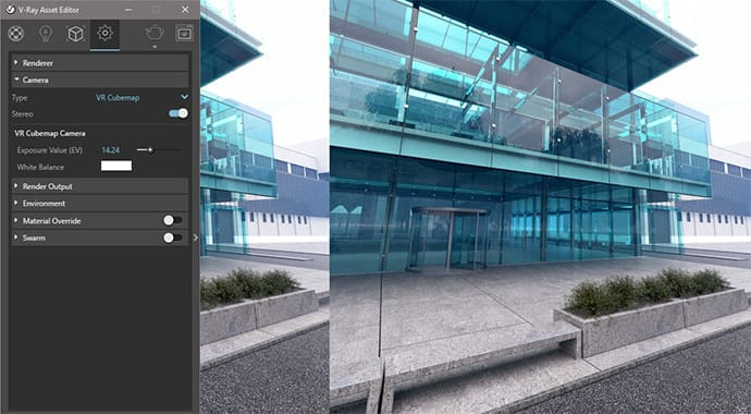 V-ray for SketchUp thực tế ảo