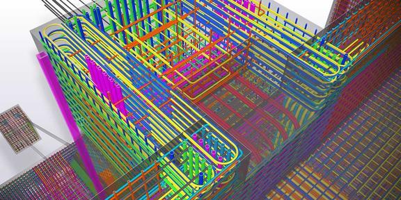 Chi tiết cốt thép 3D