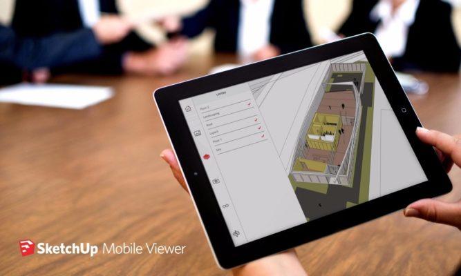 Sketchup mobile viewer