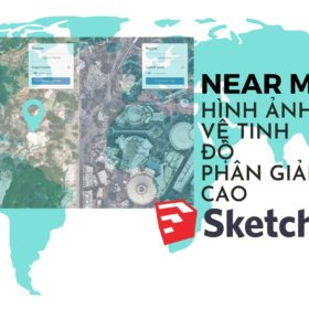 Turquoise Map Travel Trifold Brochure 1