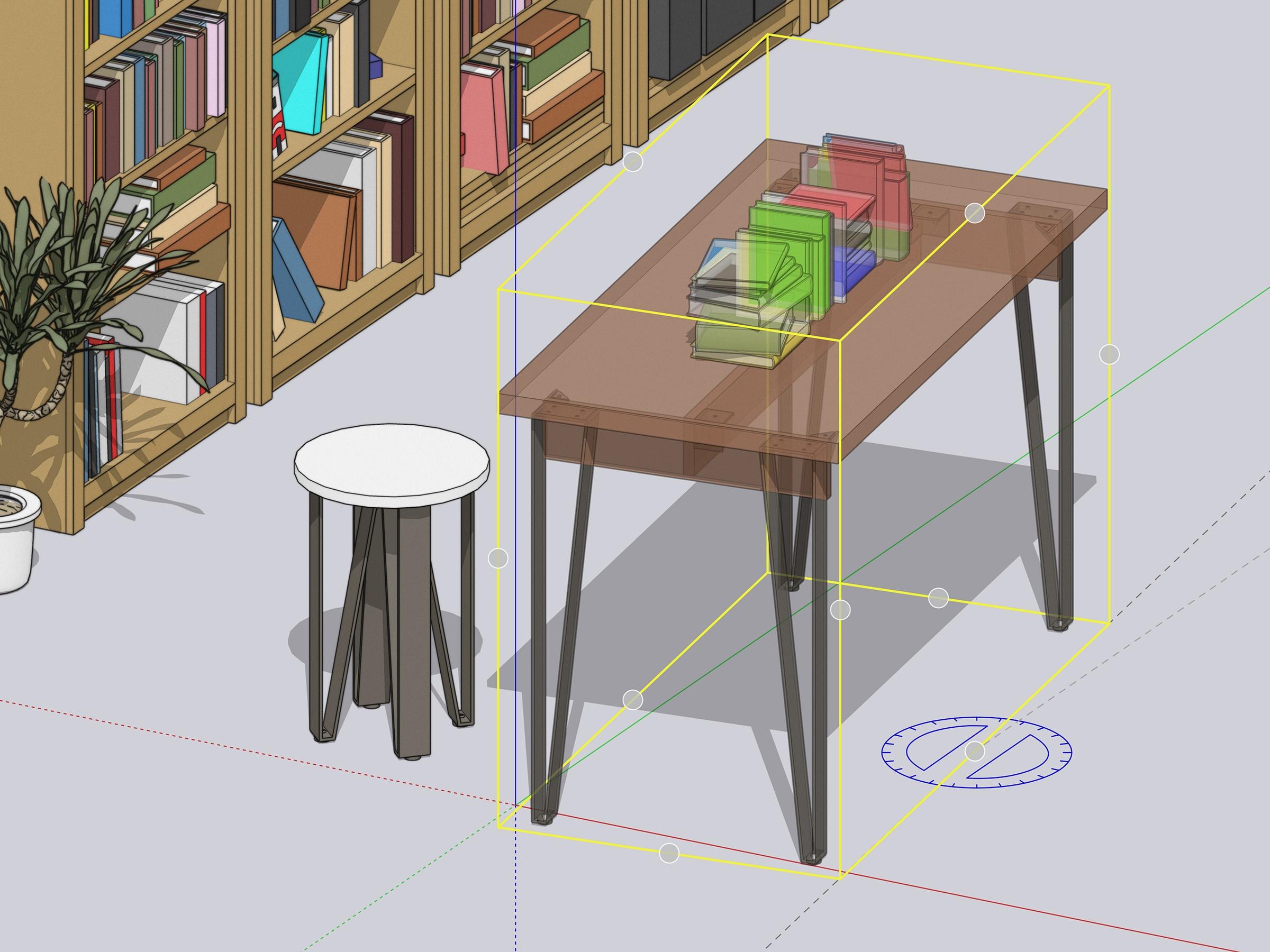 an-hien-doi-tuong-sketchup