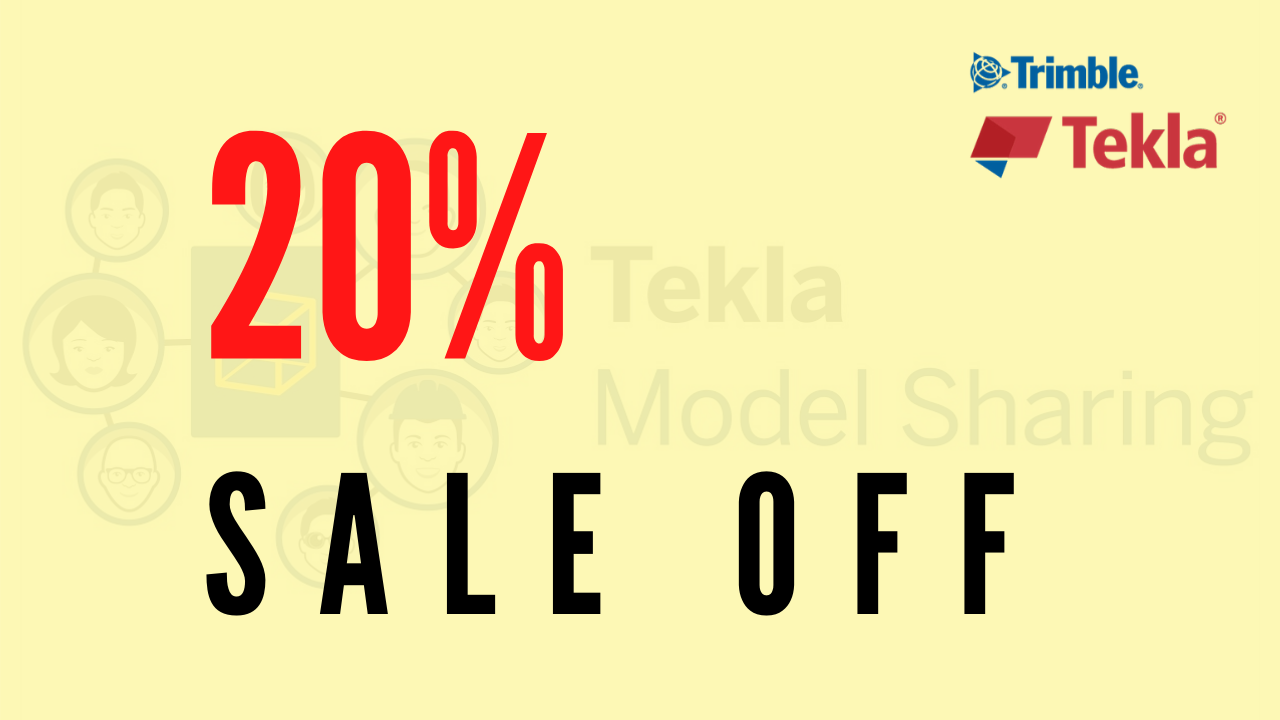 Tekla Model Sharing sales off 20%
