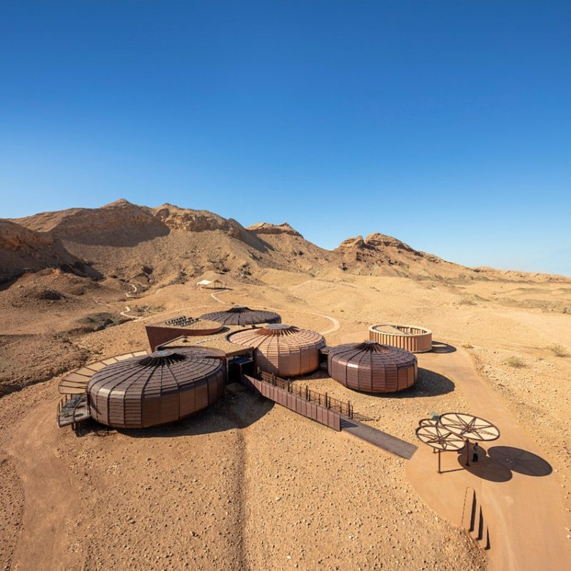 Buhais-Geology-Museum-responds-sensitively-to-its-spectacular-desert-site-within-the-former-seabed-basin-of-the-al-Madam-Plain-in-Sharjah-UAE