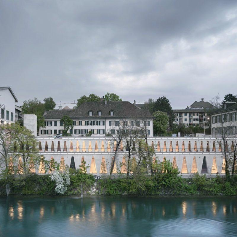 Tanzhaus-Zürich-from-the-river-Limmat