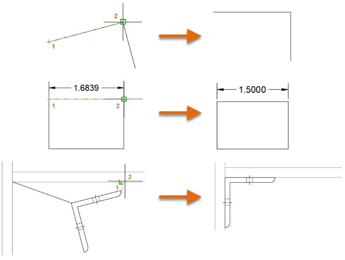 Xoay và scale đối tượng AutoCAD