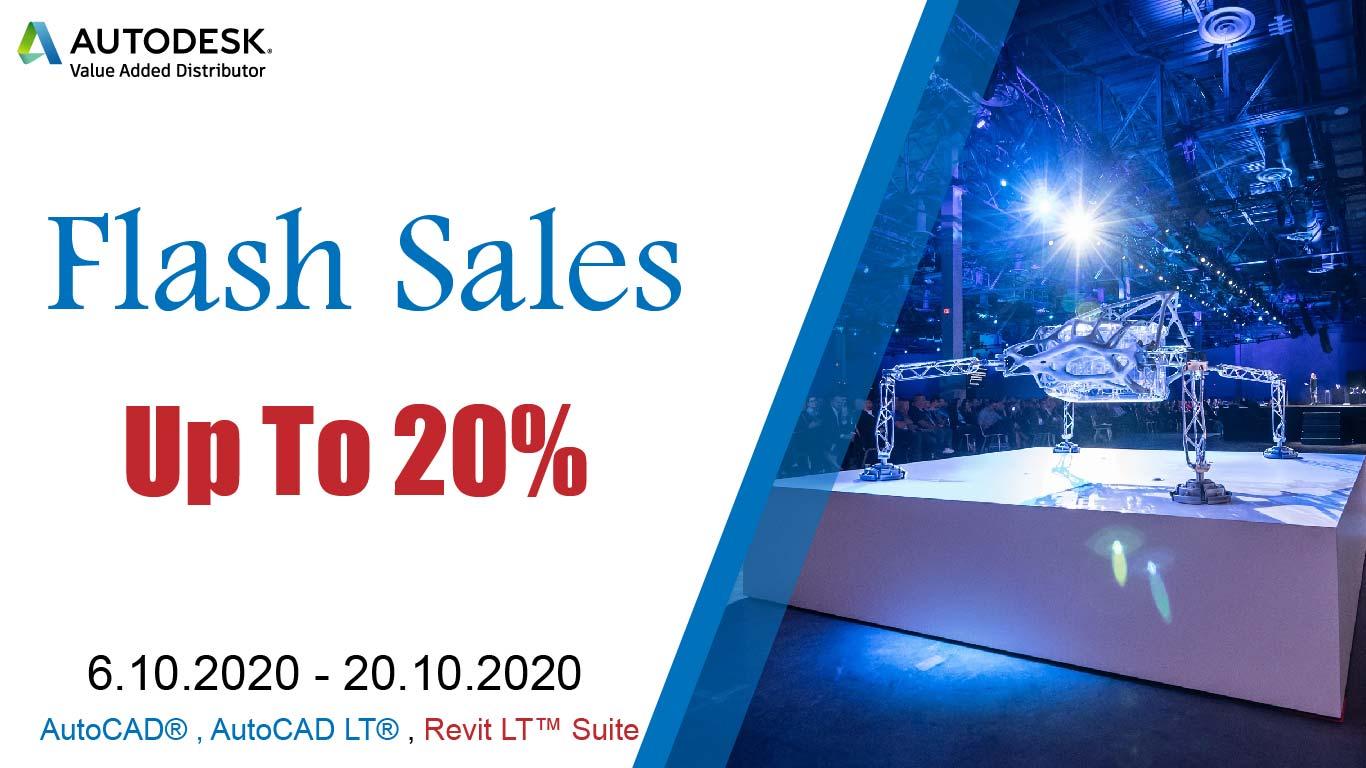 ADSK Flash Sales 6.10 20.10 01