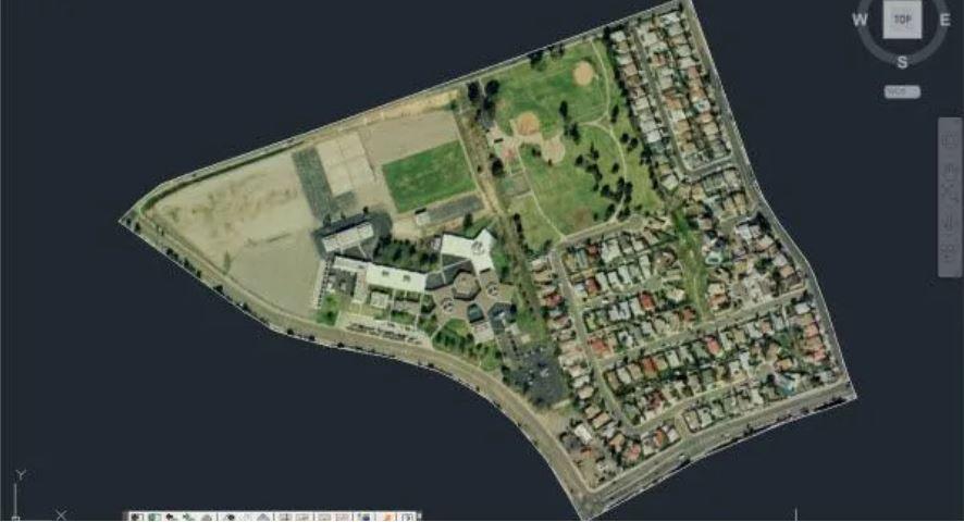 Sử dụng Google Earth với AutoCAD
