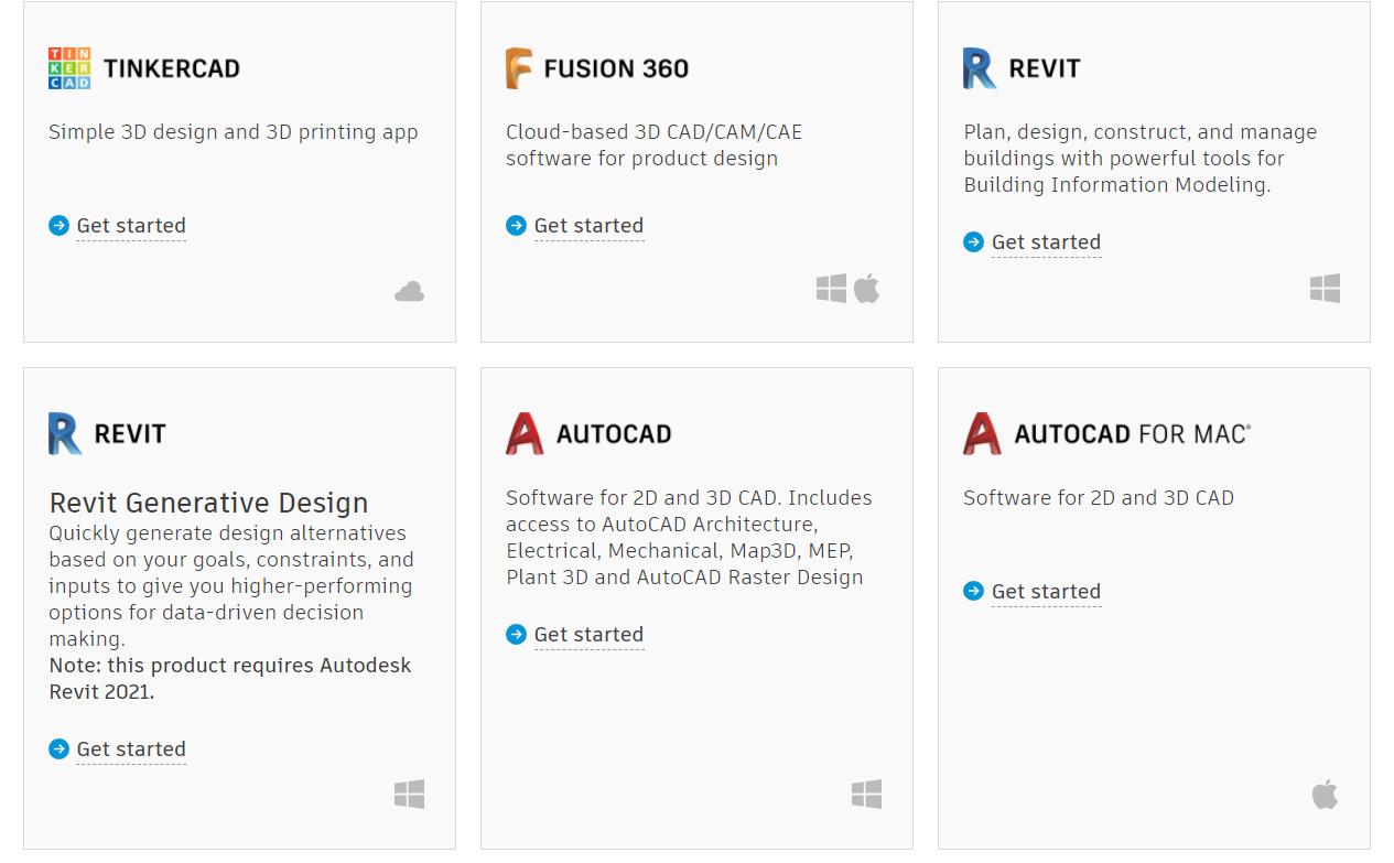 Tải và cài đặt AutoCAD for student