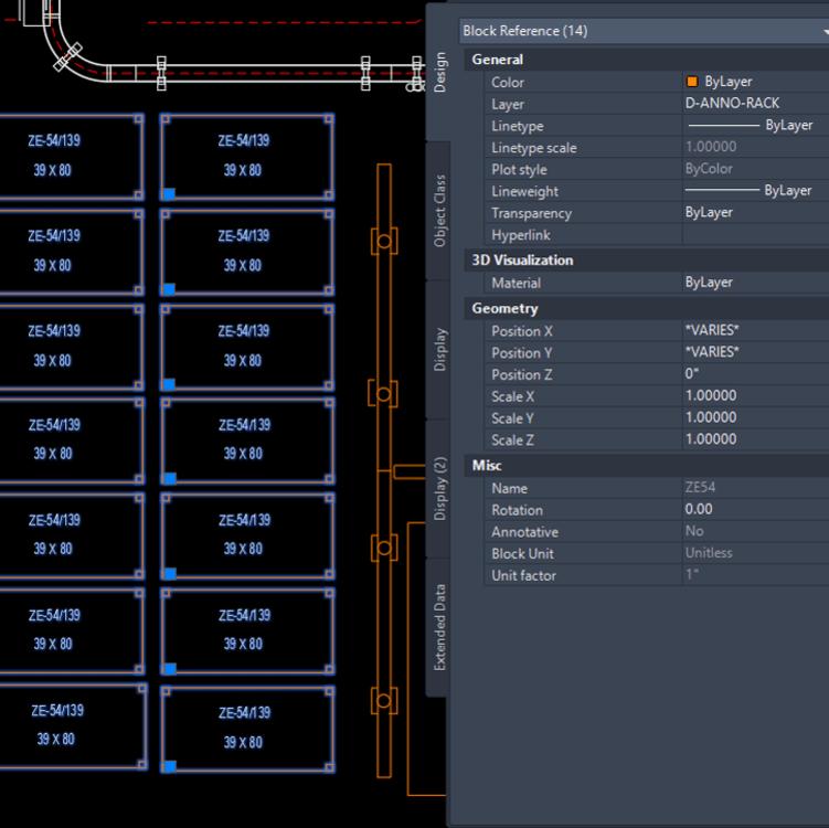 Lệnh đếm blocks trong AutoCAD