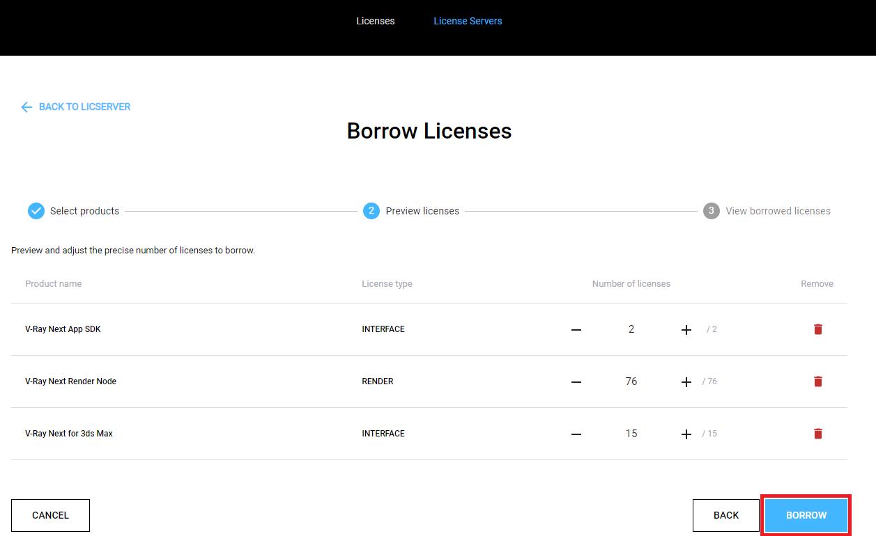 Mượn license V-Ray