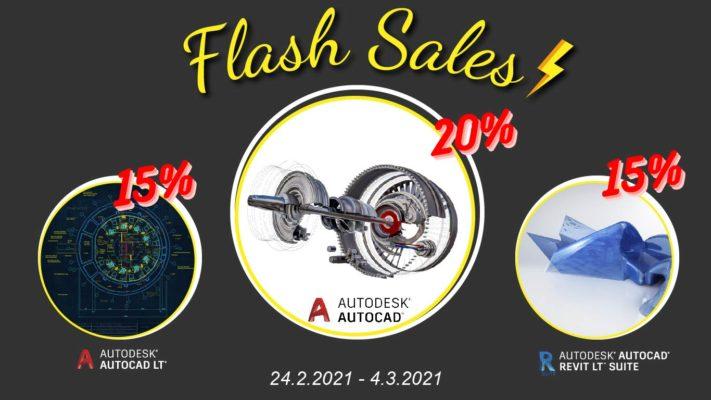 ADSK Flash Sales