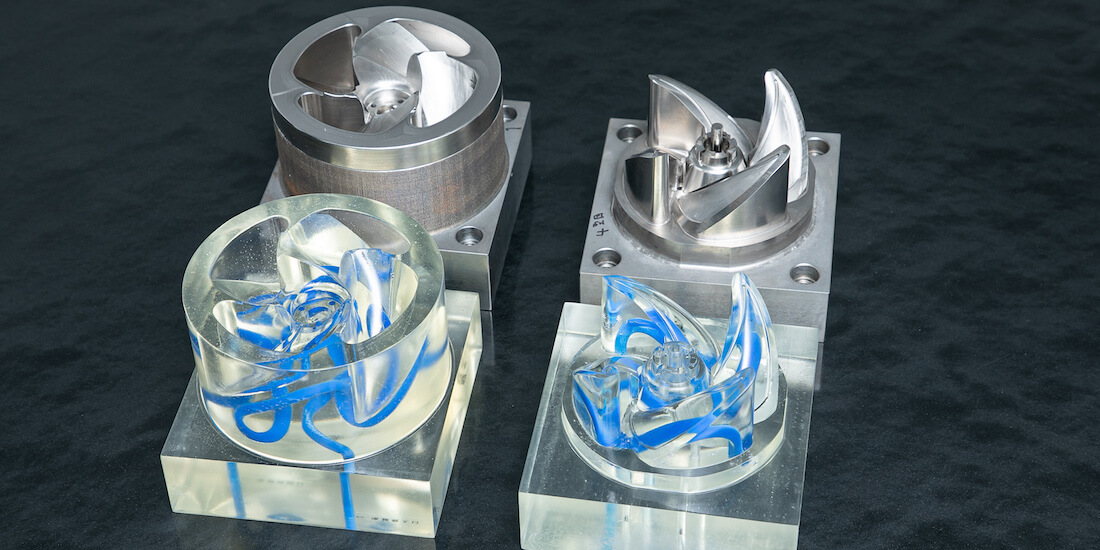 1Injection Mold Cooling header