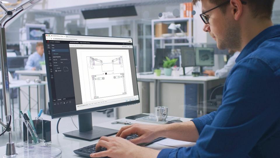 AutoCAD 2022 web app