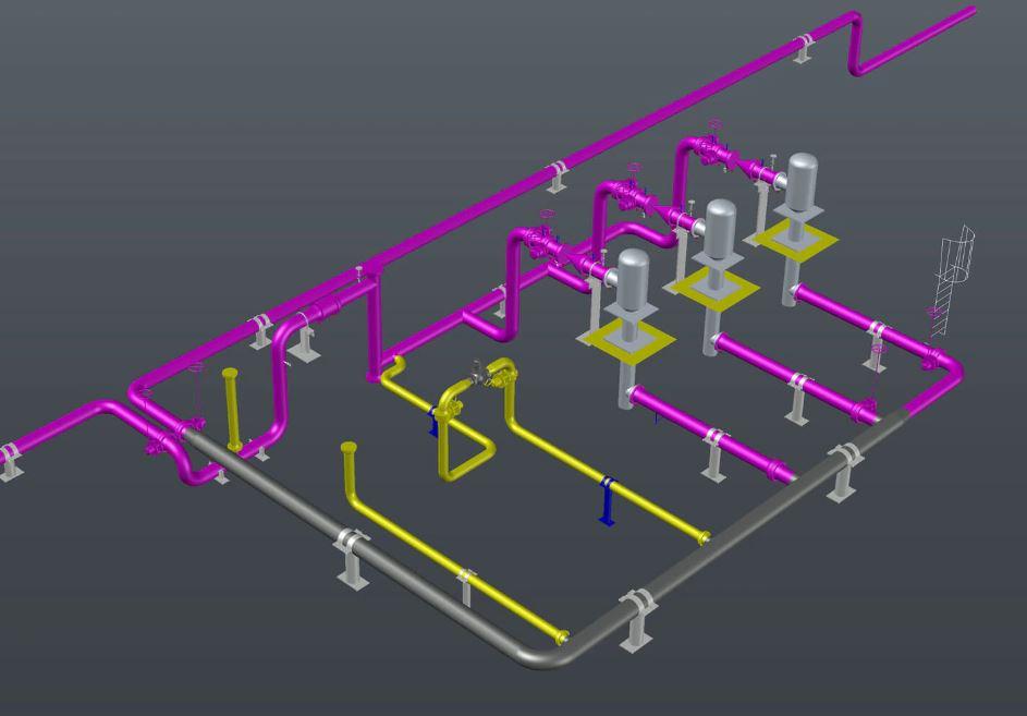 Plant 3D Toolset AutoCAD