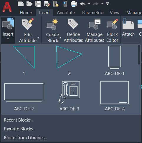 Tao Block AutoCAD 3