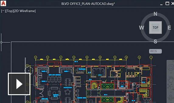 AutoCAD 2022 tính năng mới Floating windows