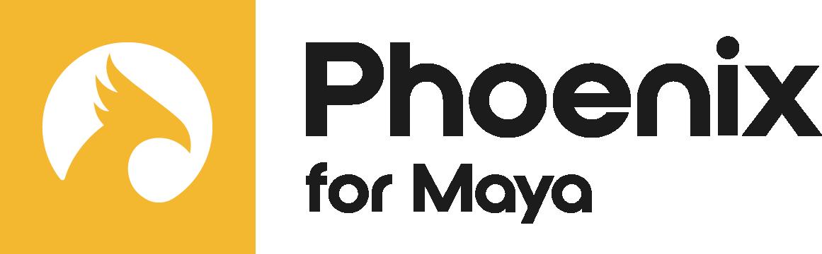 Phoenix Maya Logo Colour Black RGB