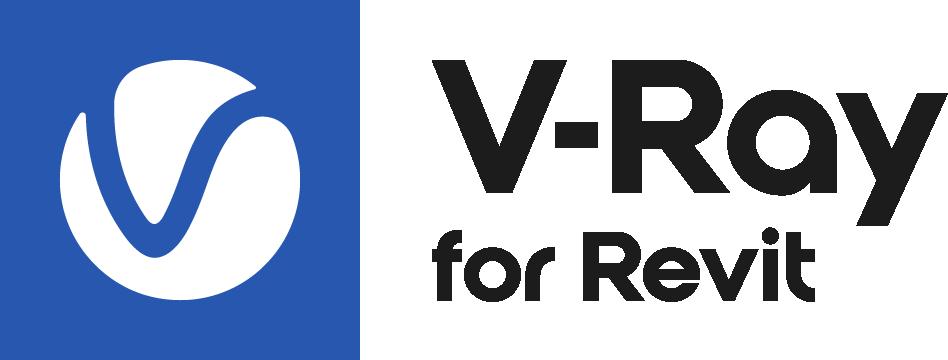 V Ray Revit Logo Colour Black RGB