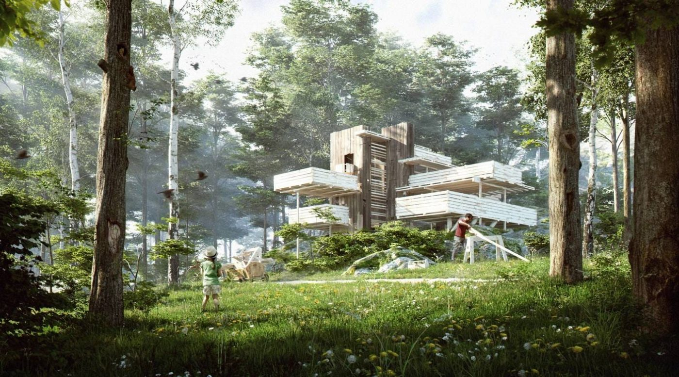 nookta wright architecture vray 3ds max
