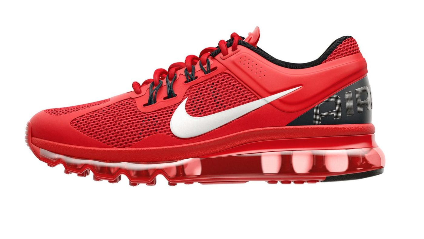 tonic nike air max product design vray 3ds max