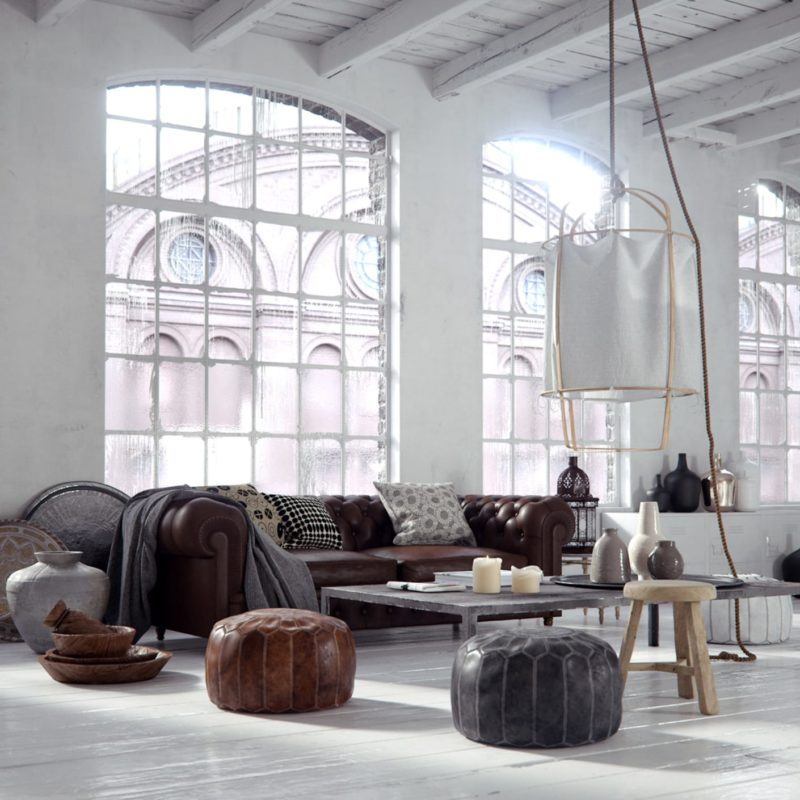 bertrand benoit norsouth living interior design vray 3ds max
