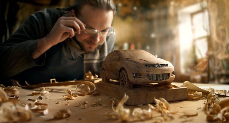 dmitriy mazda sculpture automotive vray 3ds max
