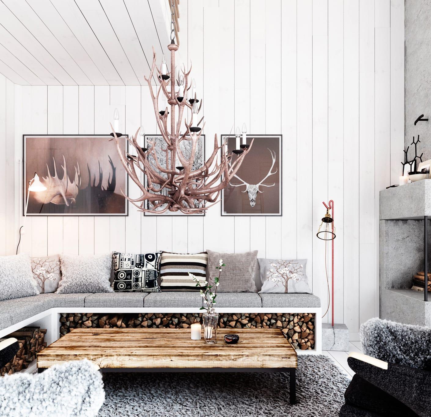 michael dillner hunters house interior design vray 3ds max 03